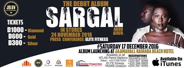 Sargal album launch